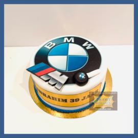 BMW taart 10 personen
