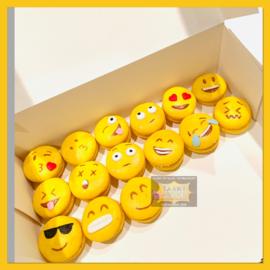 Macarons Smiley 9 stuks