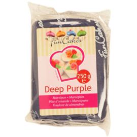 FunCakes Marsepein Paars -Deep Purple 250 gram