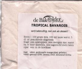 Tropical bavarois - De Bakzolder - 100 gram