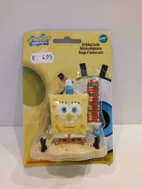 Wilton verjaardagskaarsje Spongebob -  2811-5135
