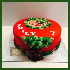 Sprookjesboom taart 10 personen
