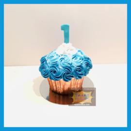 Smash Giant Rosegoud Cupcake