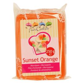 FunCakes Marsepein Oranje -Sunset Orange 250 gram