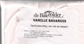 Vanille bavarois - De Bakzolder - 100 gram