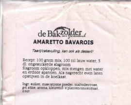Amaretto bavarois - De Bakzolder - 100 gram