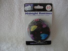 Cupcake vormpjes Middernacht romance 60 stuks PME