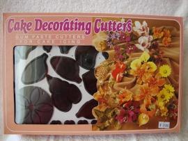 Bloemen uitstekerset 75 delig - JEM two set Flower Cutters