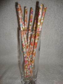 Cakepop stokjes - Rietjes - Bloemen fantasie 25 stuks