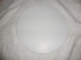 Taart karton rond diameter 23,5 centimeter, dikte 0,01 cm