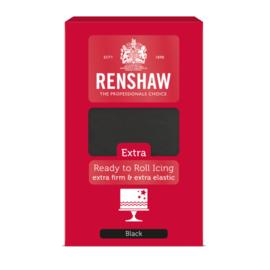 Fondant Black - Renshaw 1000gram