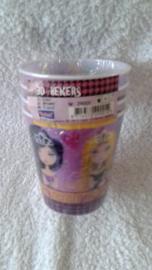 Glam Girls 3D Bekers - 4 stuks