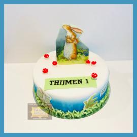Hazeltje taart 10 personen