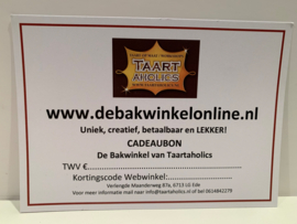 Cadeaubon 32,50 euro (basis workshop)