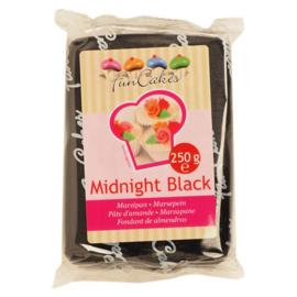 FunCakes Marsepein Zwart -Midnight Black  250 gram