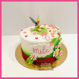 Tinkerbel taart 10 personen
