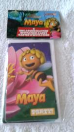 Maya de Bij Uitnodigingen - 6 stuks