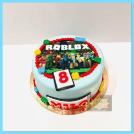 Roblox taart 10 personen