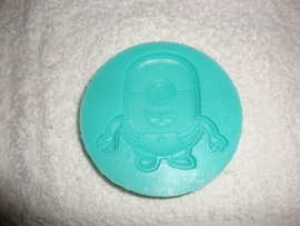 Minion siliconen mal - mould - 1 oog