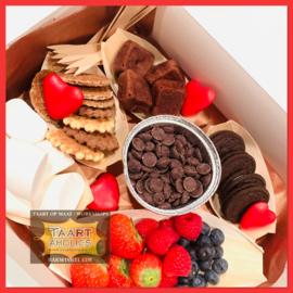 "Chocolade Fondue Box ""VALENTIJN"""