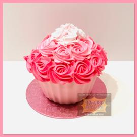 Smash Giant Roze Cupcake
