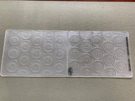 Craft Concepts - Jo's Circles - Reliëf / Embossing