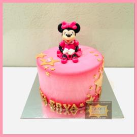 Minnie taart 10 personen
