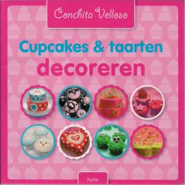 Cupcakes & Taarten decoreren door Conchita Velloso