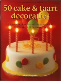 50 Cake & taart decoraties door Janice Murfitt