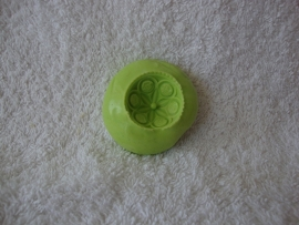 Siliconen mal groen Bloem