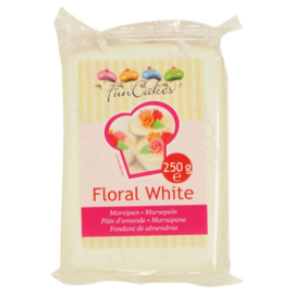 FunCakes Marsepein Wit -Floral White 250 gram