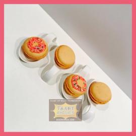 Macarons Donut 8 stuks