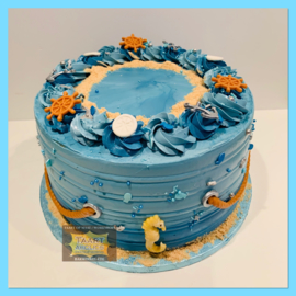 Nautische taart 10 personen