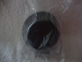 Cupcake vormpjes Zwart 40 stuks