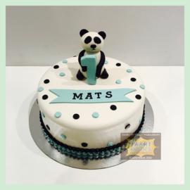 Panda taart 10 personen