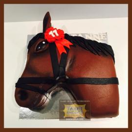 Paardenhoofd 3D voor 16 personen