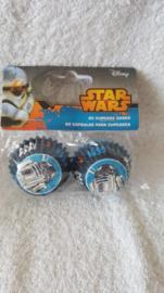 Disney Star Wars Mini Cupcake vormpjes 60 stuks