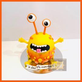 Monster taart 3D voor 10 personen