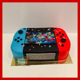 Jumanji taart 3D voor 16 personen