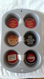 Wilton Cupcake bakvorm voor 6 cupcakes - 2105-955