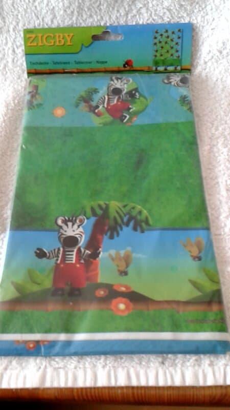 Zigby de Zebra Tafelkleed 130x180 cm