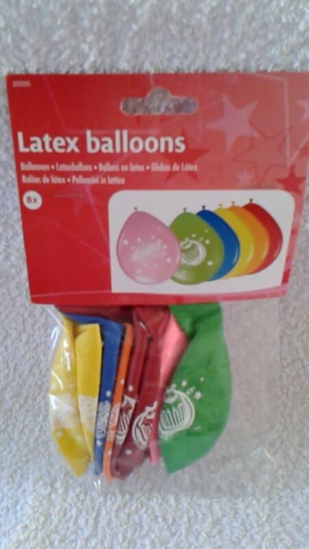 Have a Sweet Birthday latex ballonnen 8 stuks
