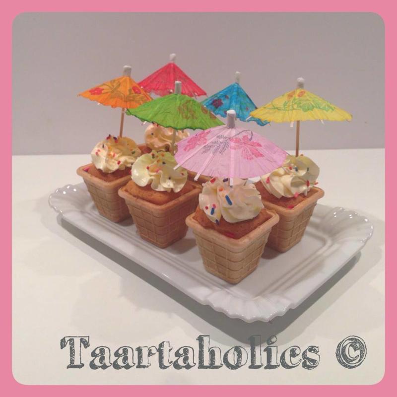 Cupcakes Ijsje 6 stuks