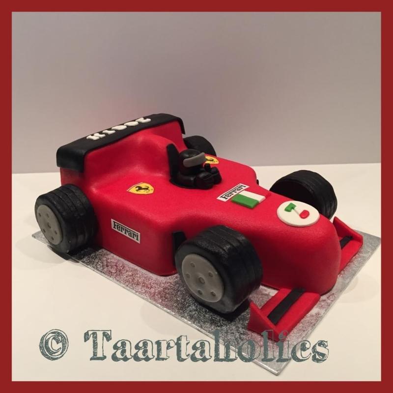 Formule 1 taart 3D voor 16 personen