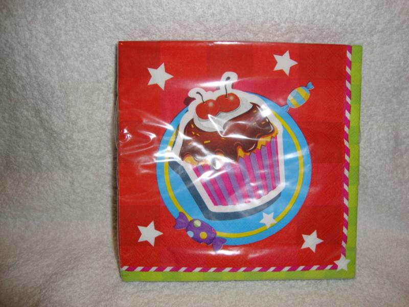 Have a Sweet Birthday servetten 20 stuks