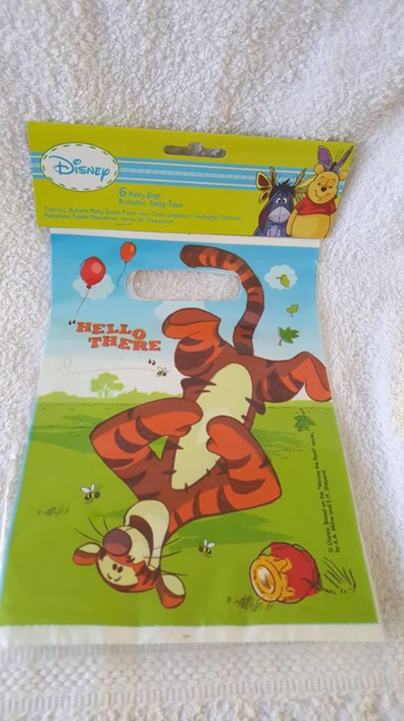 Winnie the Pooh uitdeelzakjes 6 stuks