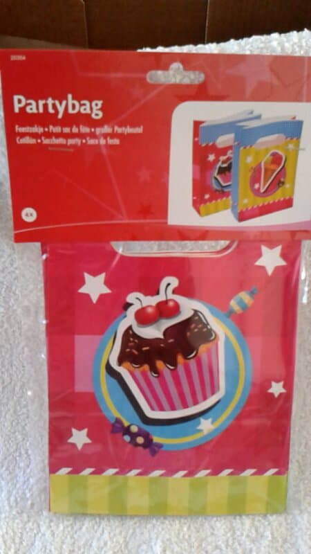 Have a Sweet Birthday Uitdeelzakje 4 stuks