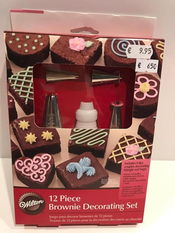 Wilton - Brownie Decoratie Set - 2104-2533