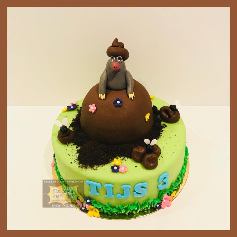 Mol taart 16 personen