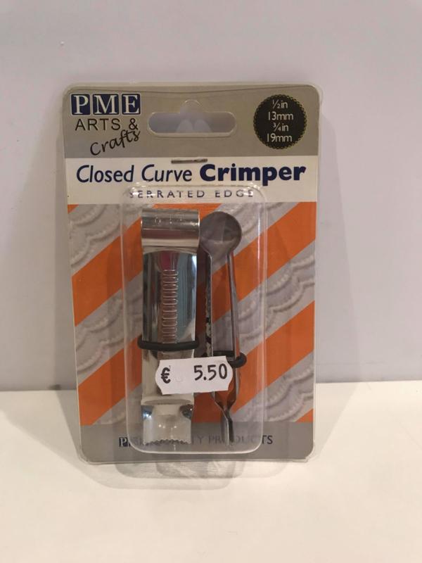 PME Closed Curve Crimper - gekartelde rand - CC320